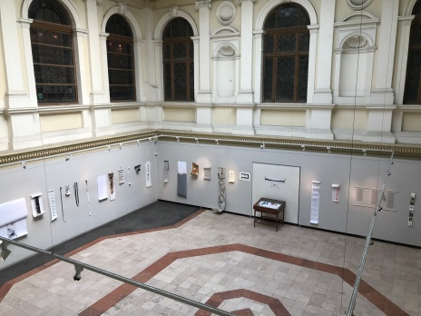 Hungarian University of Fine Arts student exhibition space